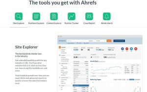 ahrefs content marketing tools